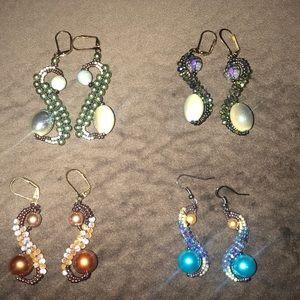 Handmade Seahorse Earrings